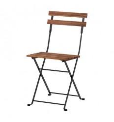 chaises square latte bois