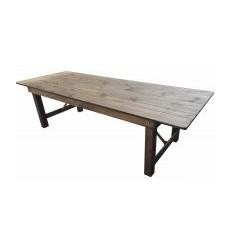 Location  Table bois massif vintage
