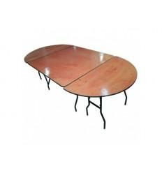 Location  Table d'honneur ovale pour 10 personnes