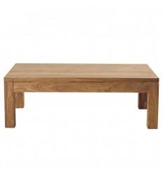 Location  Table basse en bois - chêne massif