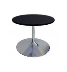 Location  Table modulo ronde avec plateau noir