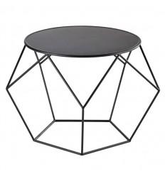 Location  Table basse design métal noire