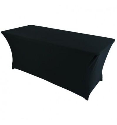 Location  Table buffet 183cm avec housse noire