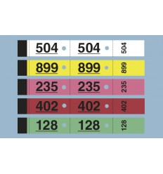 Carnet de 50 tickets vestiaires