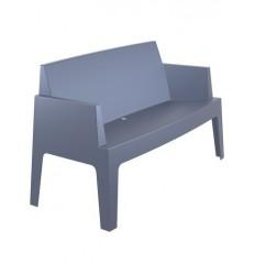 Canapé banquette lounge grise