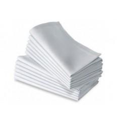Location  Serviette coton blanche 50cmx50cm