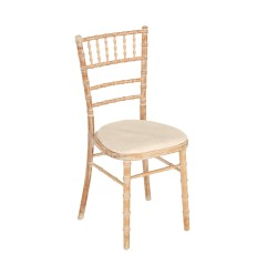 Location  Chaise  Bohème Bambou  galette blanche