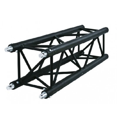 Structure alu carré noire 0,5m